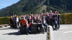 Gruppenfoto in Krimml