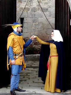 sejour deguisement au chateau-fort