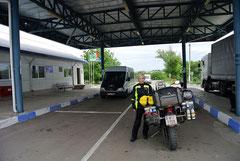 Grenze von Moldawien zur Ukraine