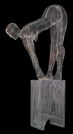 Aloha Girl. 2005. Wire mesh. 170 x 90 x 50cm. Private Collection. © Charles Rocco