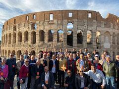 Фотография гида, на экскурсии в Италии