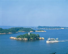 多聞山からの松島 (写真提供:宮城県観光課)