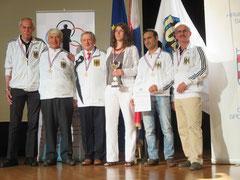 Bronzemedaille für deutsches DGS - Schach - Team