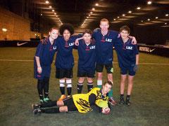 Schülermannschaft aus Halle/S.