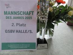 Auszeichnung für Schachteam GSBV Halle/S.