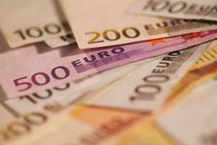 MWS-Buchhaltungsservice, Geldscheine