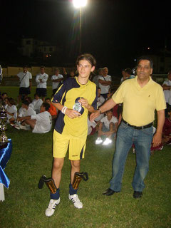 Simone Russo, ha realizzato il gol del momentaneo vantaggio (foto di repertorio)
