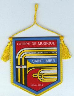 Fanion du Corps de Musique de St-Imier