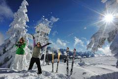 Flachau - Winter im Schnee