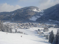 Flachau in de winter