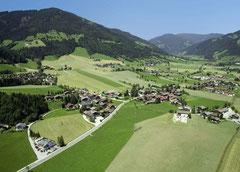 Flachau in de zomer