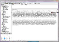 FitzNOTEによる論文作成例(クリックで拡大)