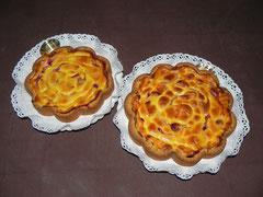 torta di lamponi e ricotta