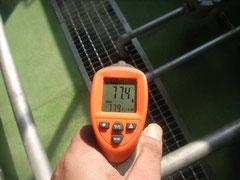 CO2ポテンシャル診断 放射温度計測