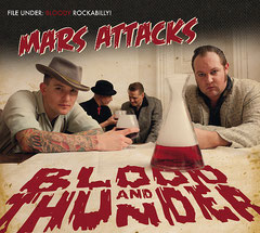 """Cover new album """"Blood and Thunder"""""""