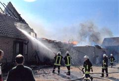 Feuer in Dobersdorf