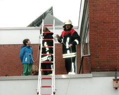 Übung an der Grundschule in Probsteierhagen