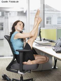 Fit sein am Arbeitsplatz - wer will das nicht?