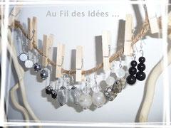 "Boucles ""Black & white"" fév 2011"