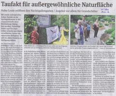 Volksstimme Schönebeck vom 14. Juni 2012