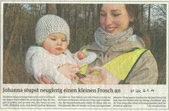 Volksstimme Schönebeck vom 31. März 2014 (Anneliese Klose)