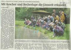 Schönebecker Volksstimme vom 3. Juni 2011
