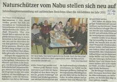Volksstimme Schönebeck vom 23. Januar 2012