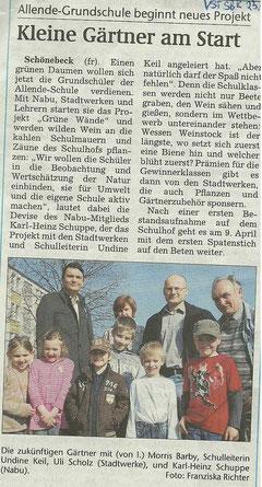 Voklksstimme Schönebeck vom 23. März 2011