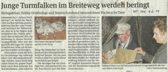 Volksstimme Schönebeck vom 4. Juni 2014 (Kathleen Radunsky))