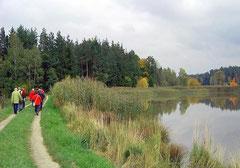 Wanderung in der Teichpfanne