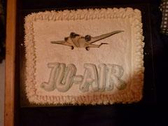 JU-AIR Sujet als Dessert, war das fein.....