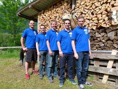 Das junge Curling-Team von Interlaken-Adelboden