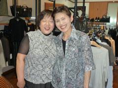 店長ミヨ子と玲子さん