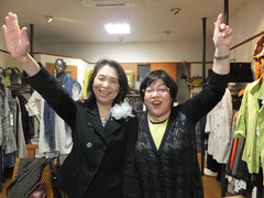 酒井さんと店主ミヨ子