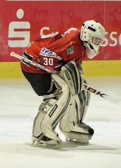 "Torwart der ""Ice Dragons"" Herford"