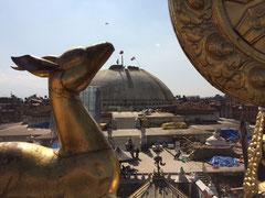 Die Stupa von Boudhanath (UNESCO-Weltkulturerbe)