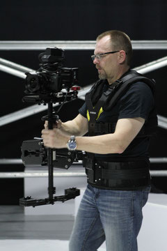 Stefan Czech als Glidecam Trainer in Dubai