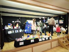 作品展:子どもたちの豊かな造形表現をお見せする日。