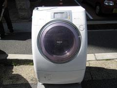 赤帽 神戸 洗濯機の運送