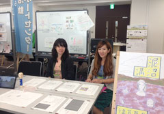 写真(左)沼下桂子さん (右)萩原綾乃さん 以上、泥沼コミュニティ