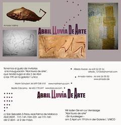 Amador Vallina: Abril - Lluvia de Arte