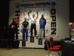 Richie on the podium