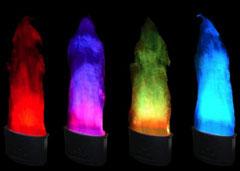 Flammes virtuelles RGB