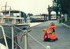 In Emden auf dem Pier...