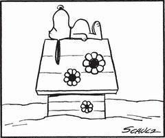 スヌーピーの家には玉突き台があるって知ってます?