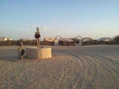 Campamento en Douz