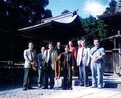 出雲伊波比神社にて(2010.10)