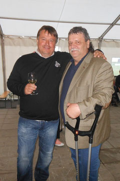 Geschäftsführer Bernd Dallos (li.) mit OG.Obmann Franz Maldet