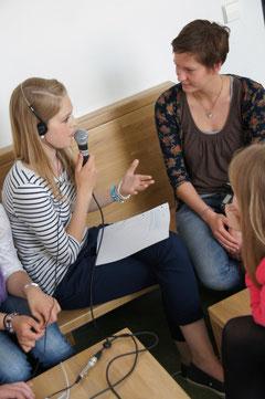 Interview-Training in der Leibnizschule