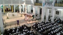 obsèques à la cathédrale